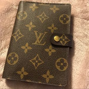 Louis Vuitton Mono Agenda/Planner Passport Holder.